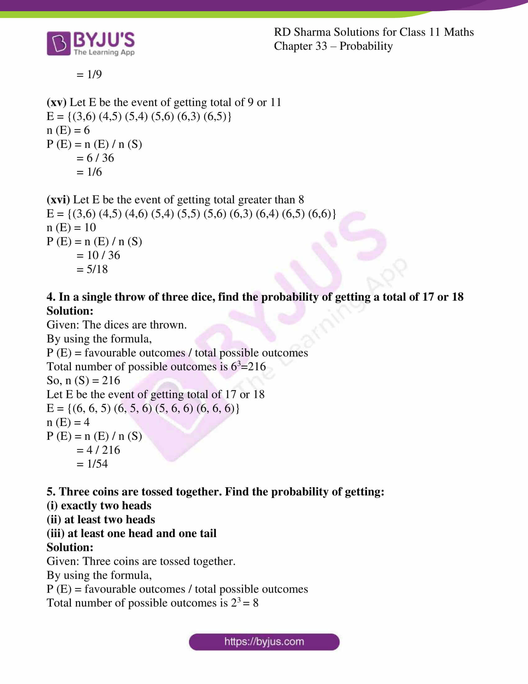 rd sharma class 11 maths chapter 33 ex 3 06