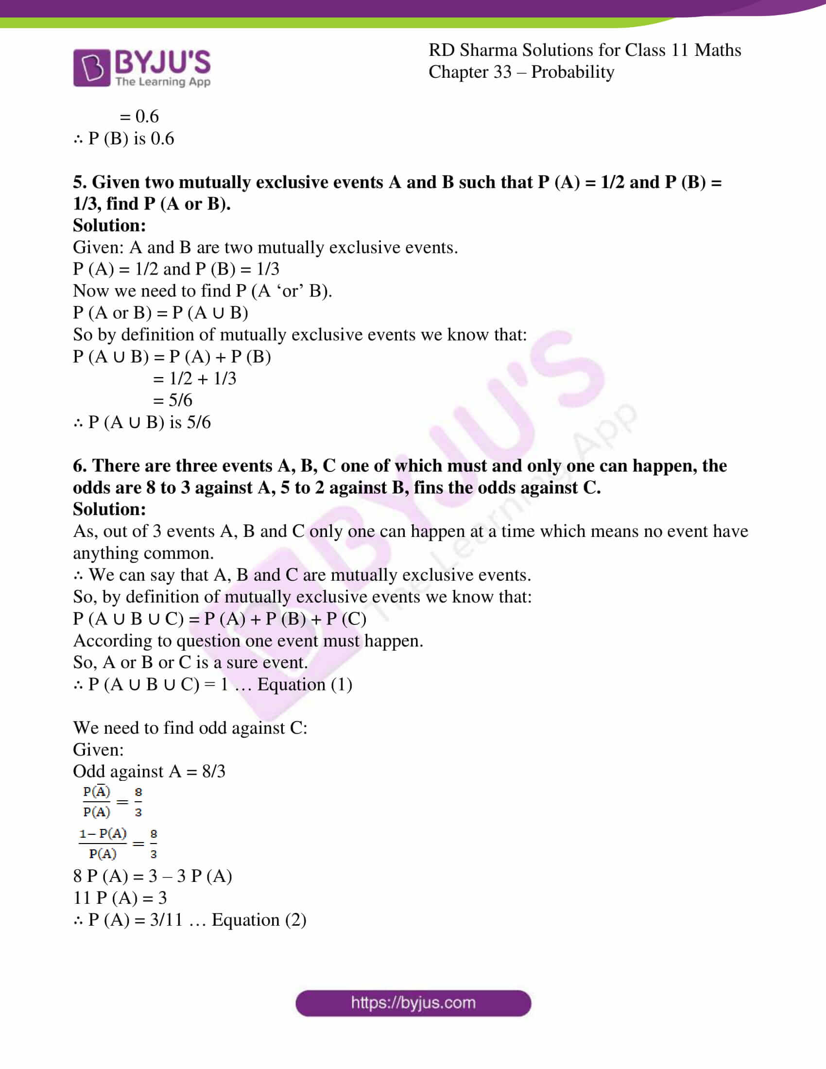 rd sharma class 11 maths chapter 33 ex 4 05