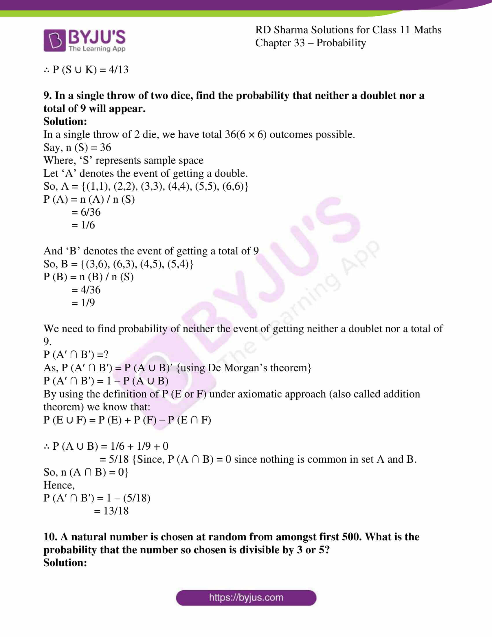 rd sharma class 11 maths chapter 33 ex 4 08