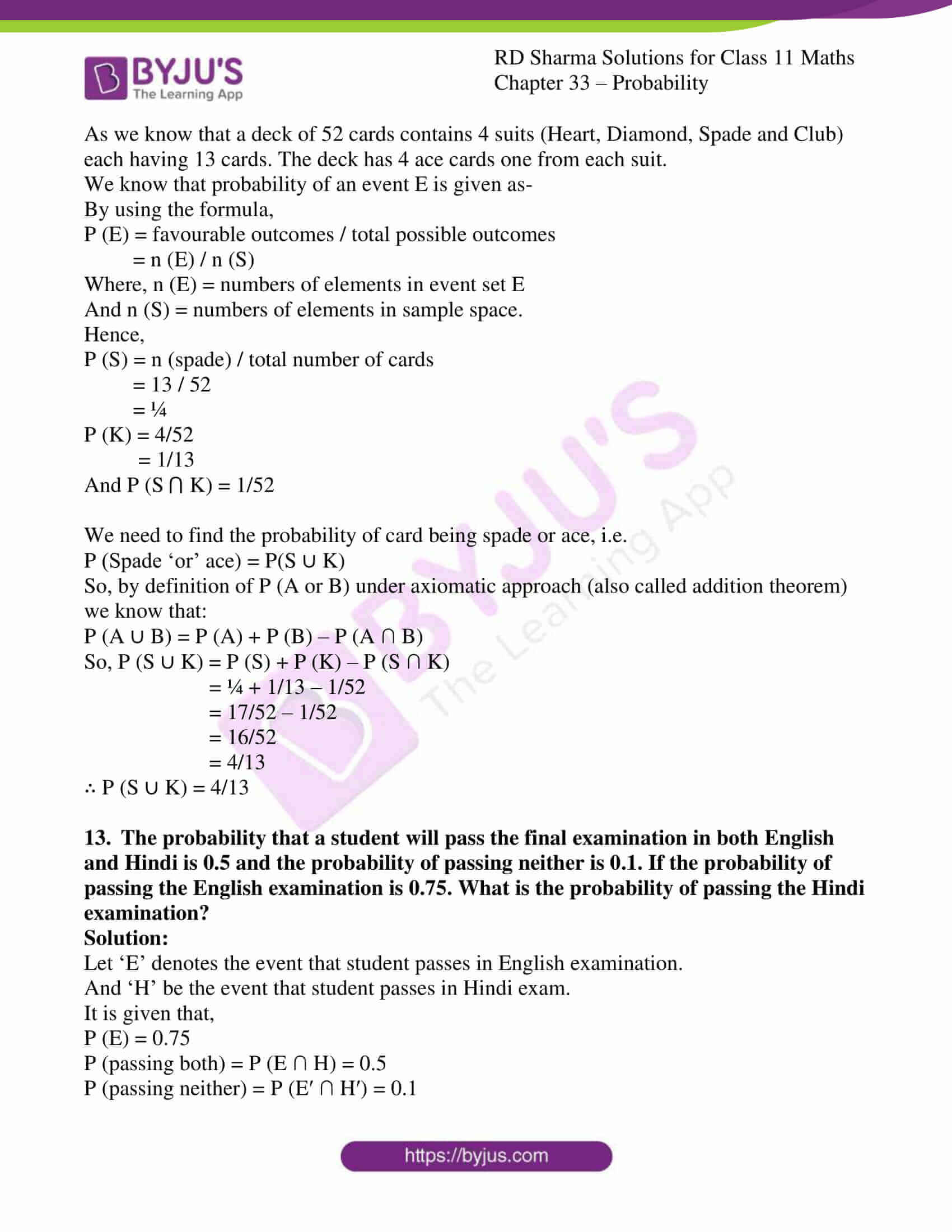 rd sharma class 11 maths chapter 33 ex 4 11
