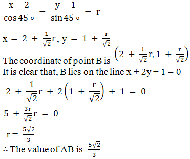 RD Sharma Solutions for Class 11 Maths Chapter 23 – The Straight Lines - image 33
