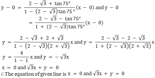 RD Sharma Solutions for Class 11 Maths Chapter 23 – The Straight Lines - image 97