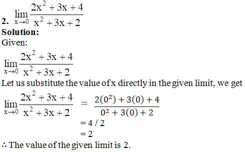 RD Sharma Solutions for Class 11 Maths Chapter 29 – Limits - image 12