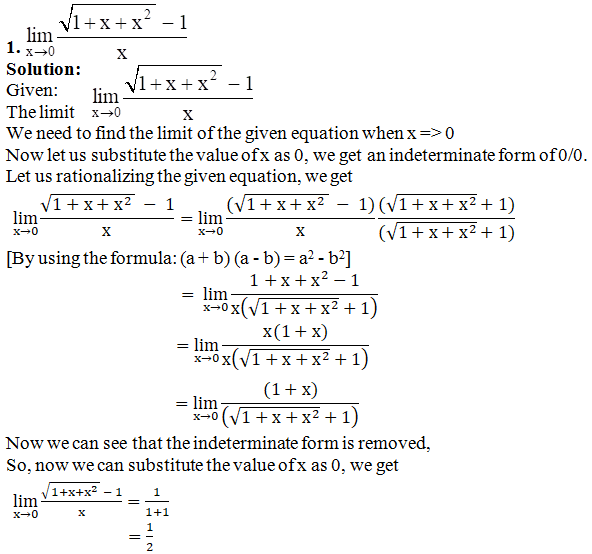 RD Sharma Solutions for Class 11 Maths Chapter 29 – Limits - image 27