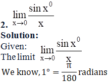 RD Sharma Solutions for Class 11 Maths Chapter 29 – Limits - image 54