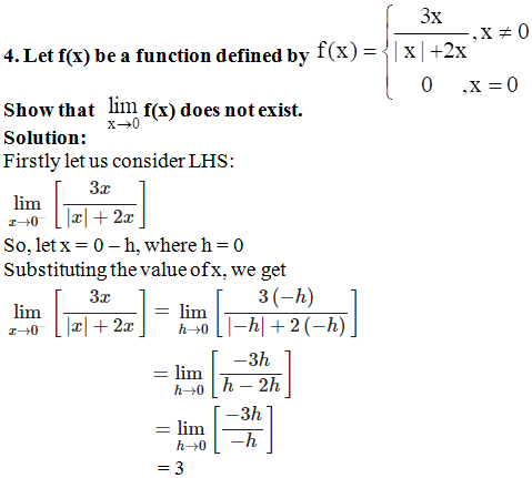 RD Sharma Solutions for Class 11 Maths Chapter 29 – Limits - image 7