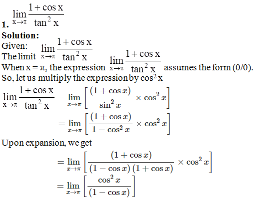 RD Sharma Solutions for Class 11 Maths Chapter 29 – Limits - image 70