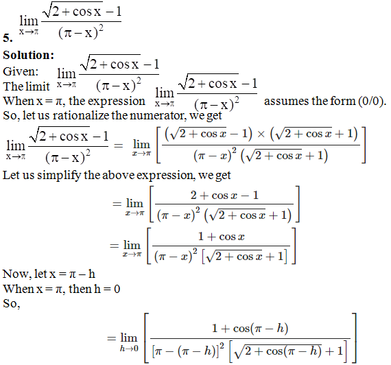 RD Sharma Solutions for Class 11 Maths Chapter 29 – Limits - image 78