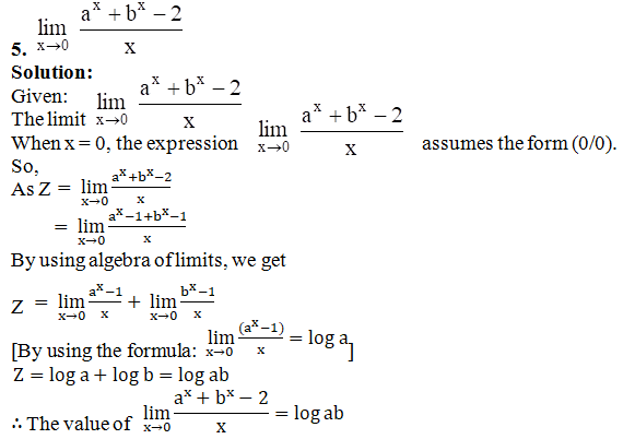 RD Sharma Solutions for Class 11 Maths Chapter 29 – Limits - image 87