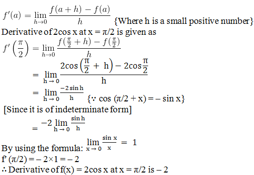 RD Sharma Solutions for Class 11 Maths Chapter 30 – Derivatives - image 11