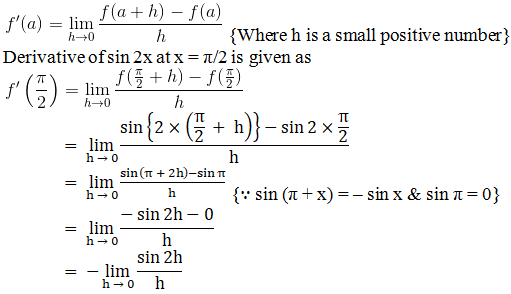 RD Sharma Solutions for Class 11 Maths Chapter 30 – Derivatives - image 12