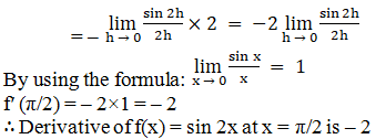 RD Sharma Solutions for Class 11 Maths Chapter 30 – Derivatives - image 13