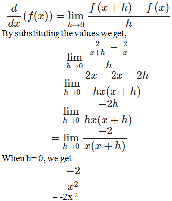 RD Sharma Solutions for Class 11 Maths Chapter 30 – Derivatives - image 14