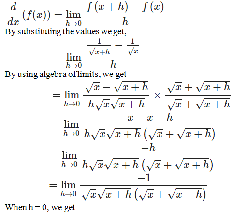 RD Sharma Solutions for Class 11 Maths Chapter 30 – Derivatives - image 15