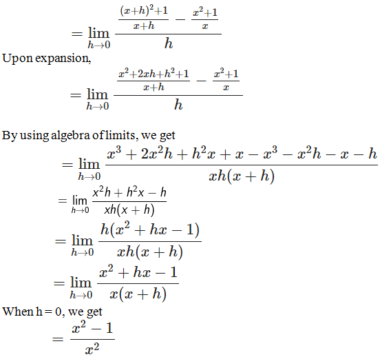 RD Sharma Solutions for Class 11 Maths Chapter 30 – Derivatives - image 20