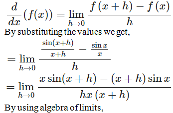 RD Sharma Solutions for Class 11 Maths Chapter 30 – Derivatives - image 31