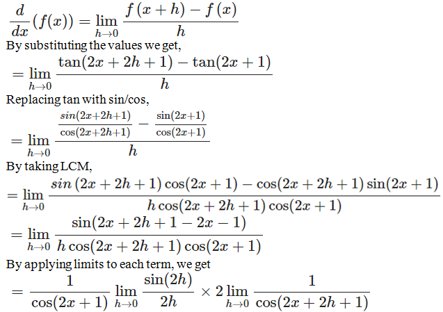 RD Sharma Solutions for Class 11 Maths Chapter 30 – Derivatives - image 36