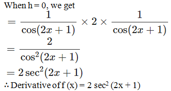 RD Sharma Solutions for Class 11 Maths Chapter 30 – Derivatives - image 37