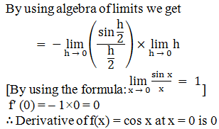 RD Sharma Solutions for Class 11 Maths Chapter 30 – Derivatives - image 6