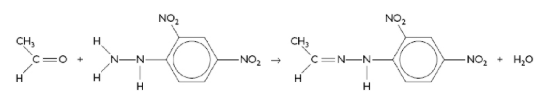 Reaction with Ethanol