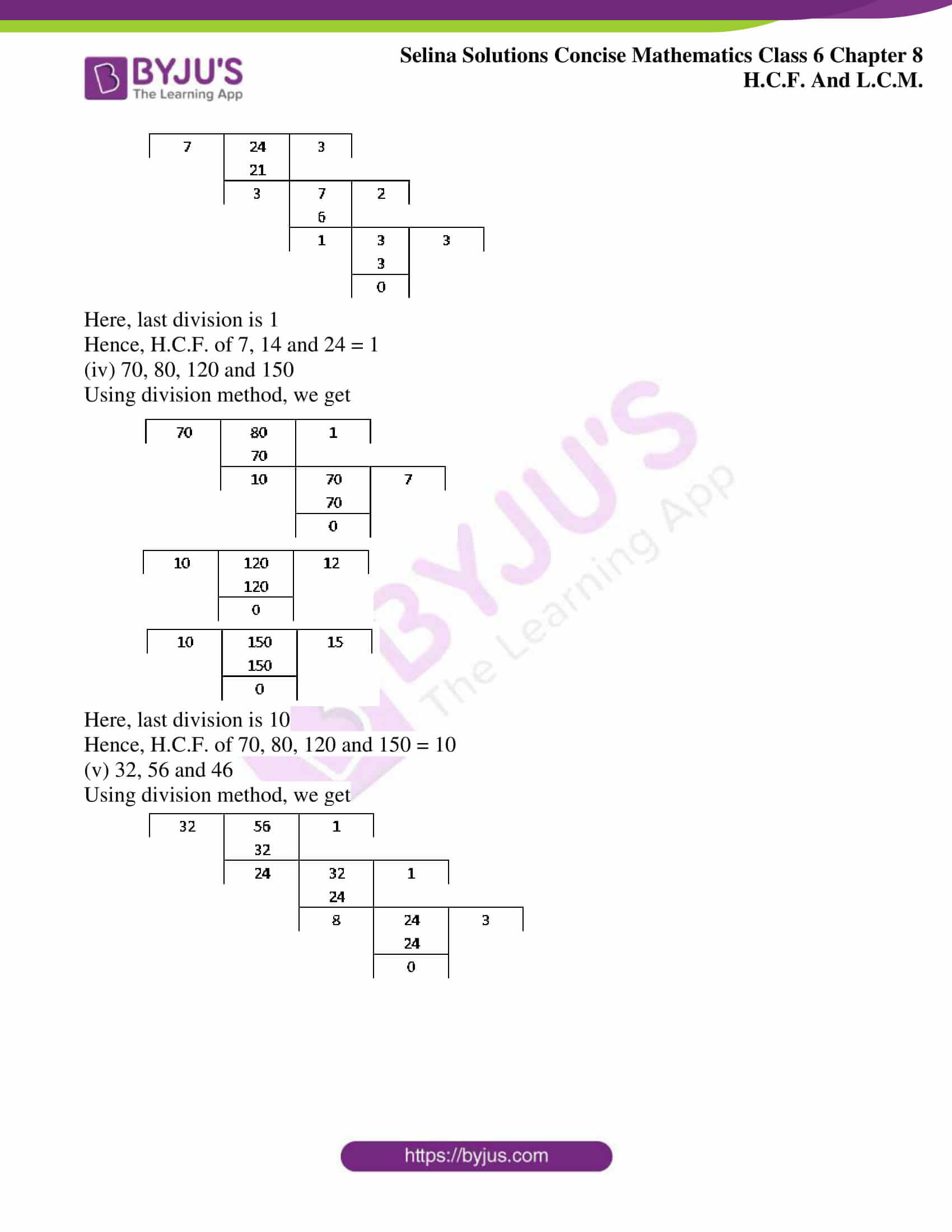selina sol concise mathematics class 6 ch 8 ex b 4