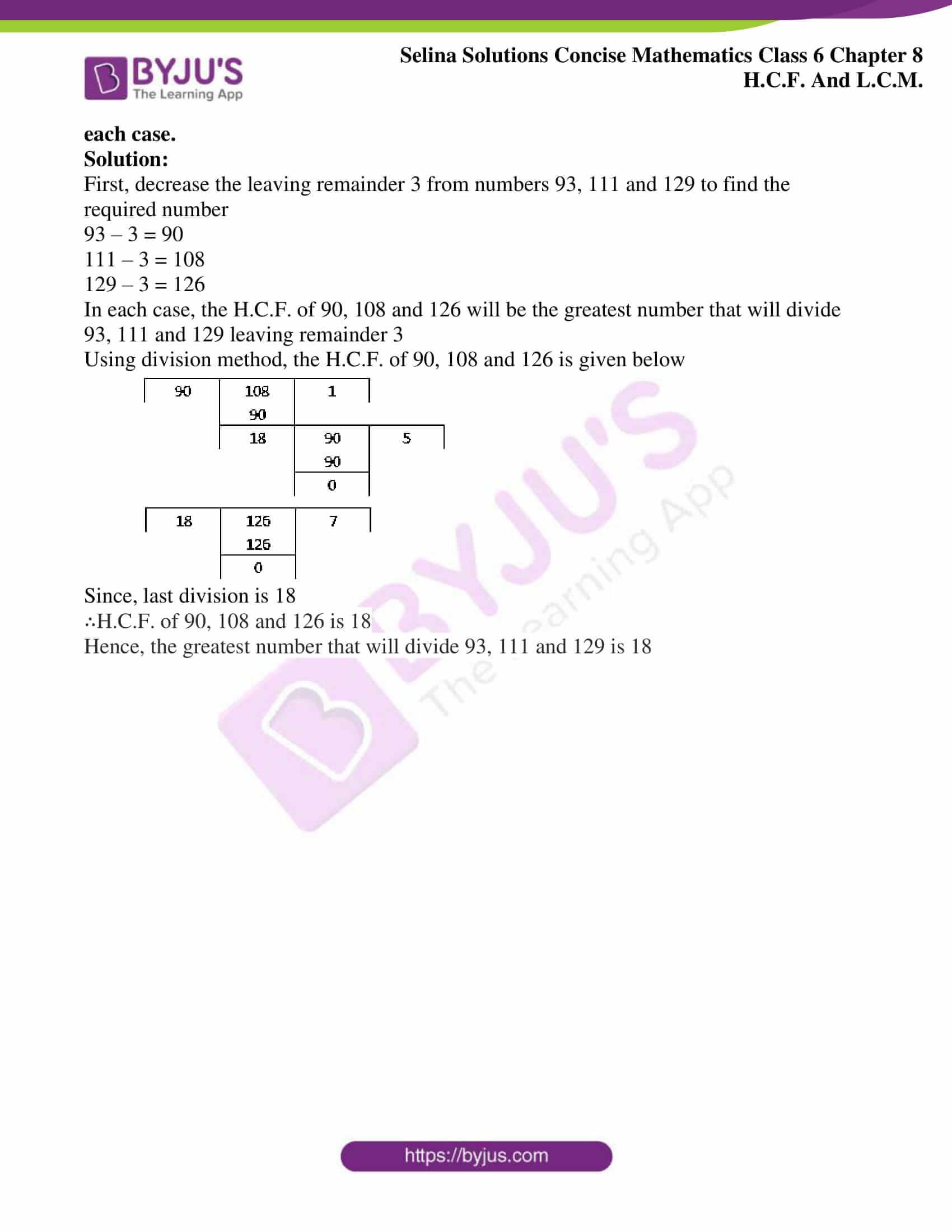 selina sol concise mathematics class 6 ch 8 ex b 9
