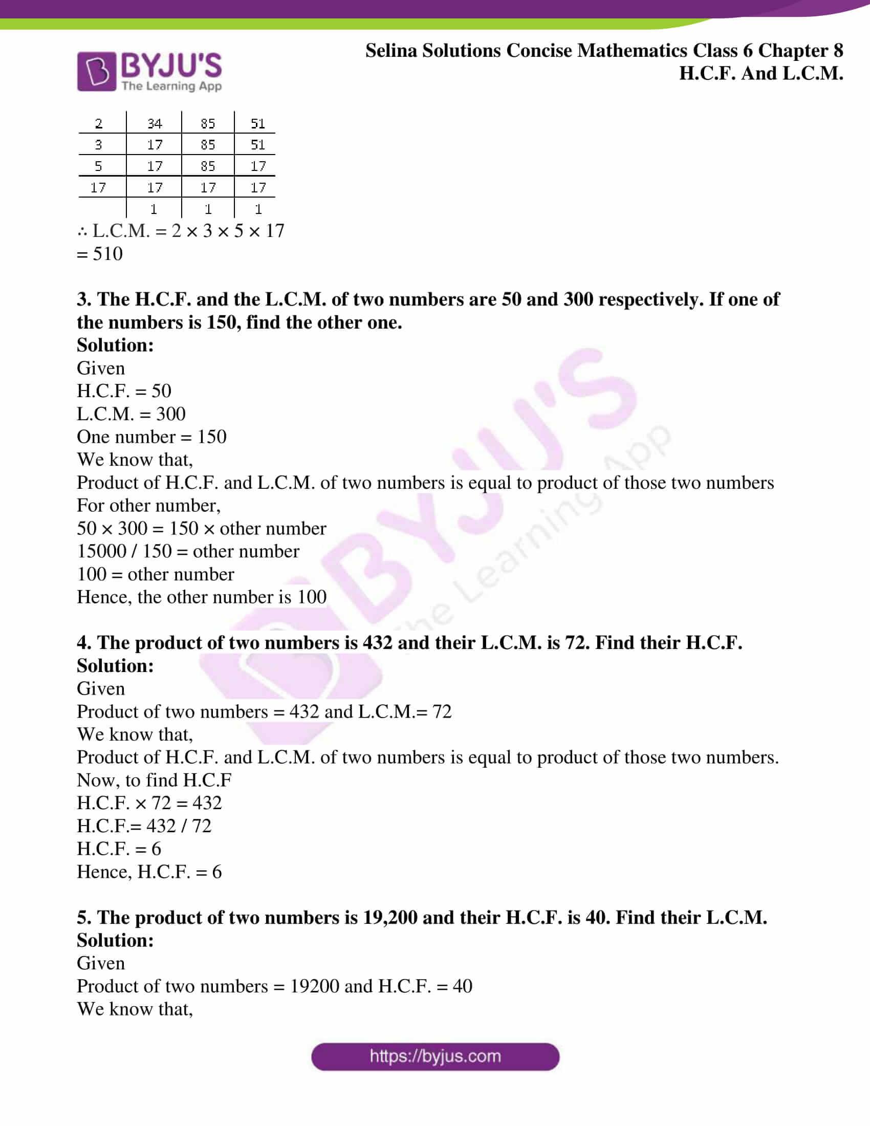 selina sol concise mathematics class 6 ch 8 ex c 4