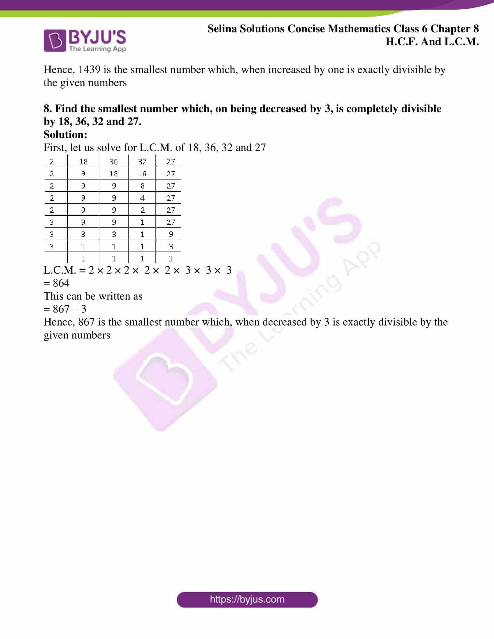 selina sol concise mathematics class 6 ch 8 ex c 6