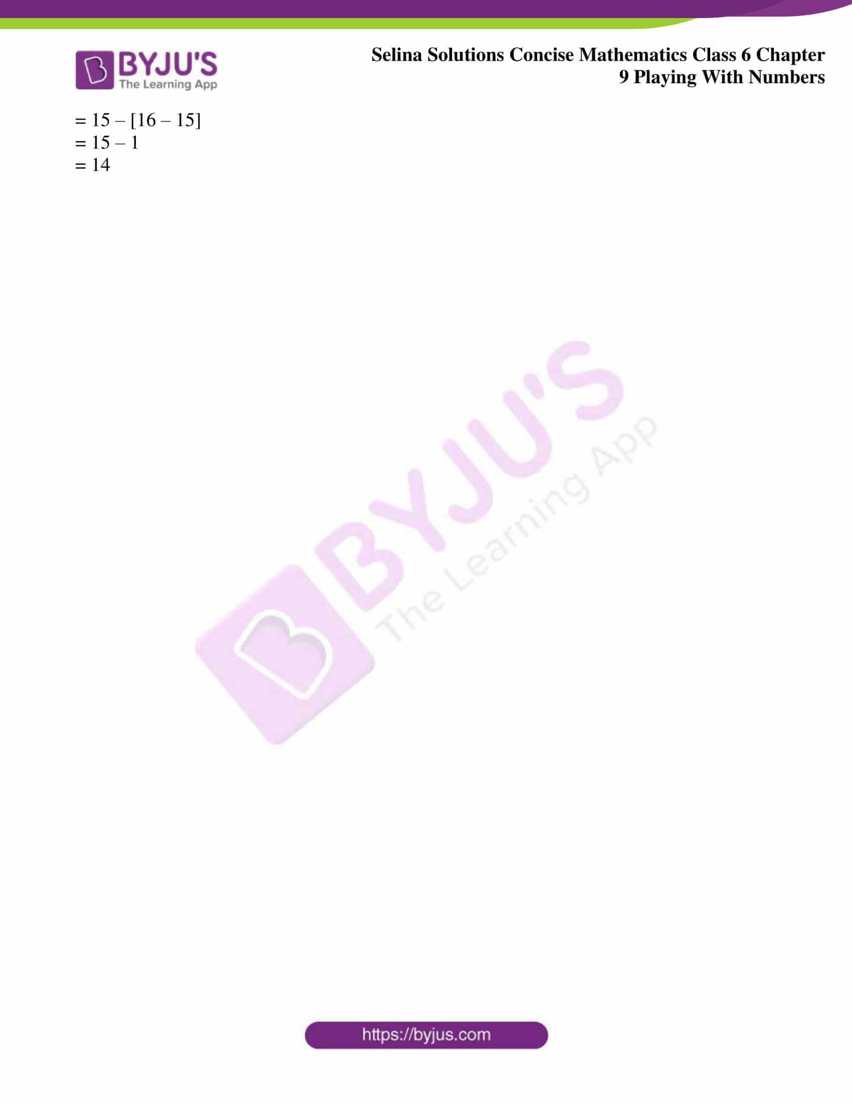 selina sol concise mathematics class 6 ch 9 ex a 4
