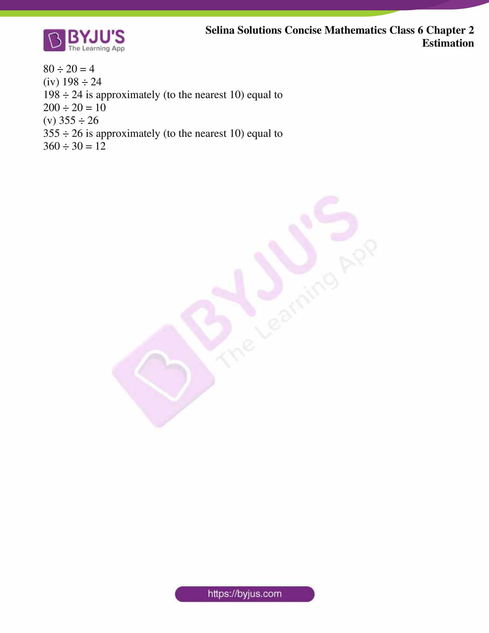 selina sol concise maths class 6 ch2 ex 2b 7