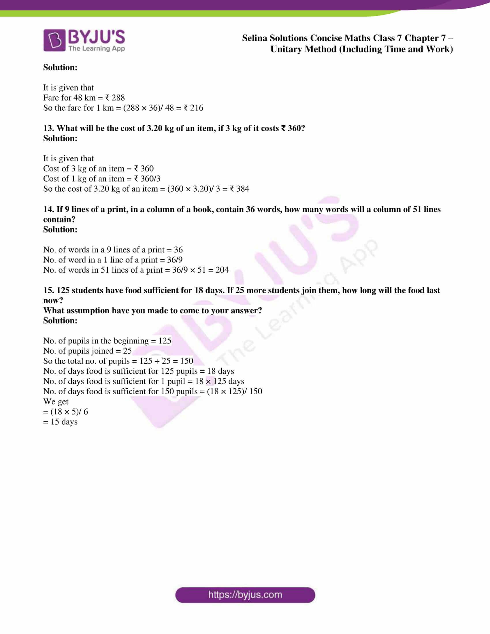 selina sol concise maths class 7 ch7 ex 7a 3