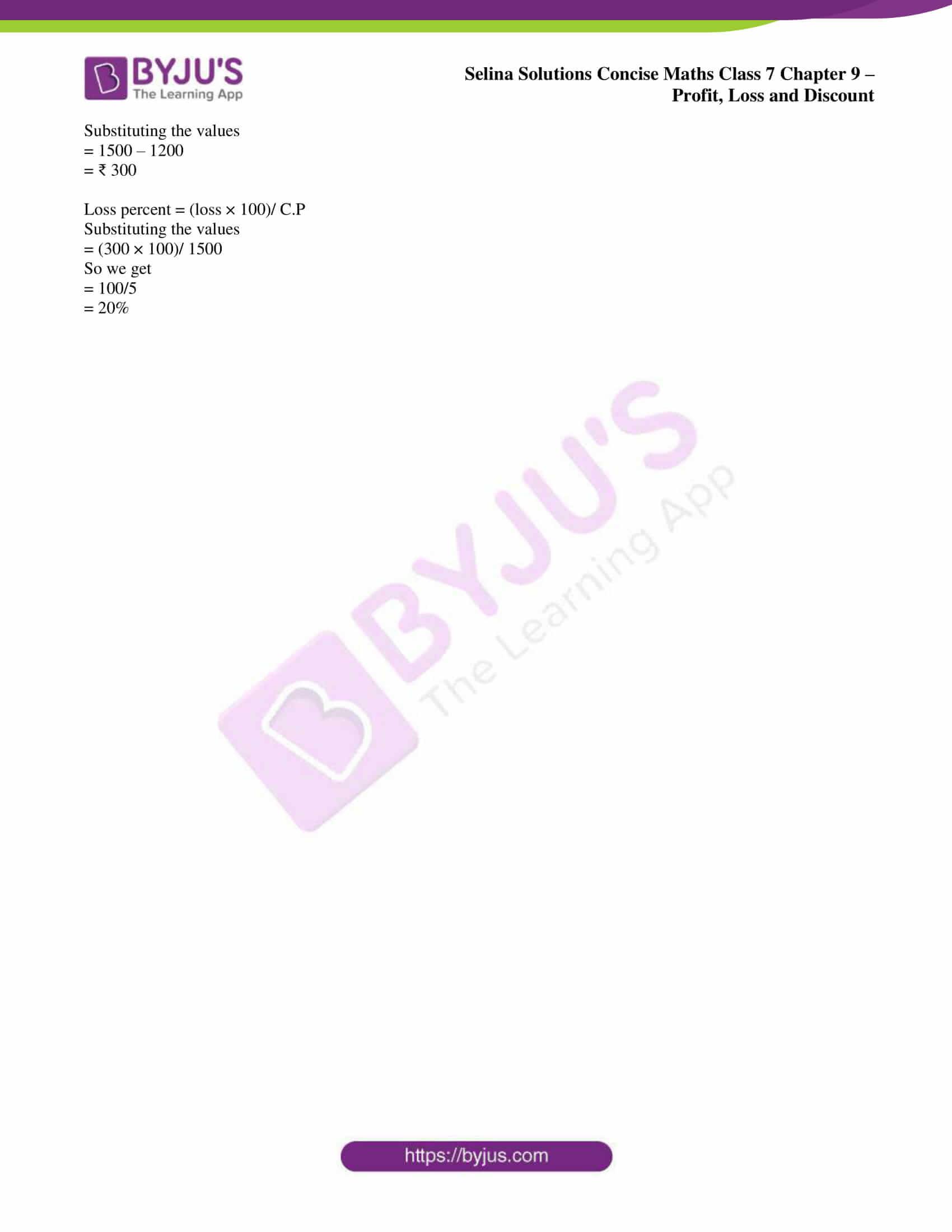 selina sol concise maths class 7 ch9 ex 9a 6