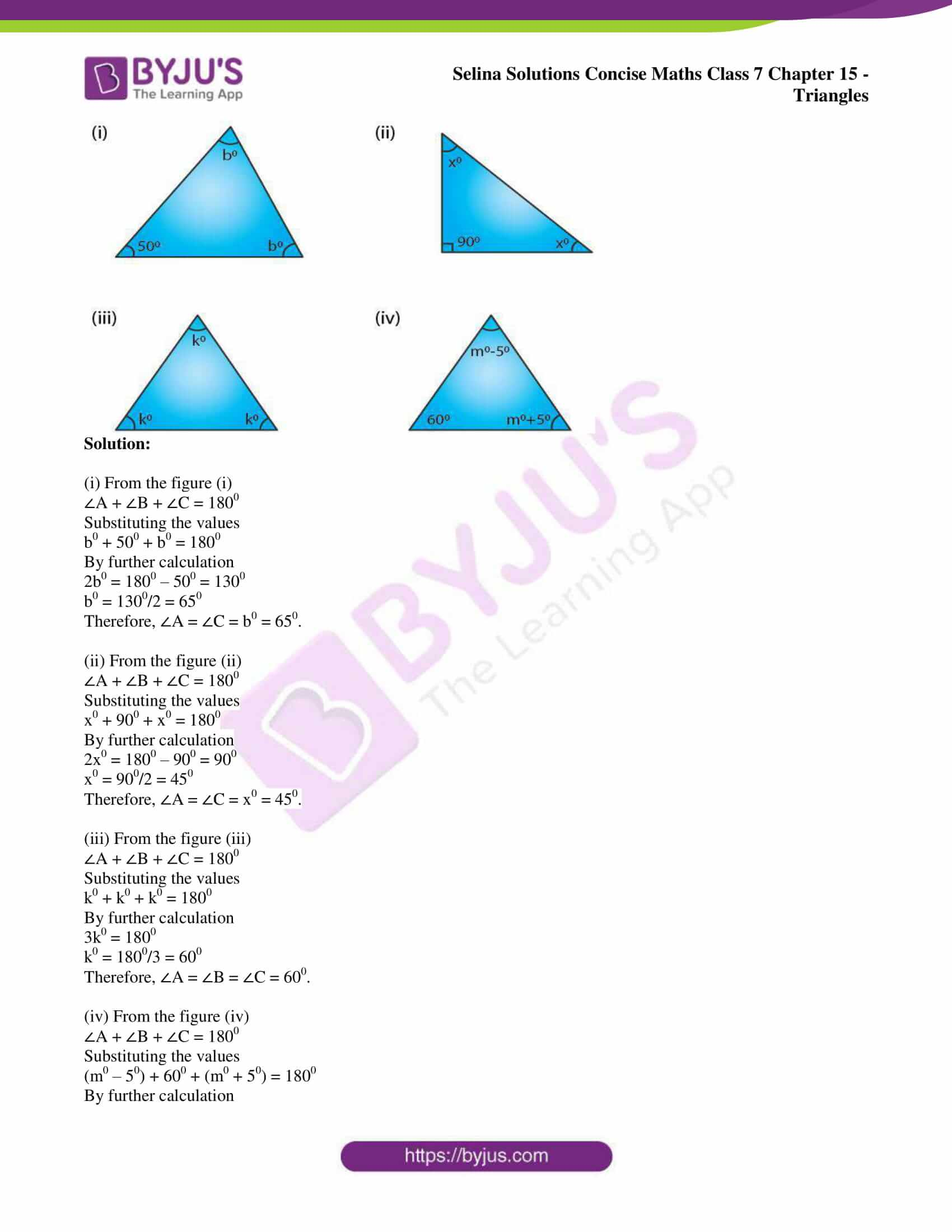 selina sol concise maths class 7 chapter 15 ex a 4