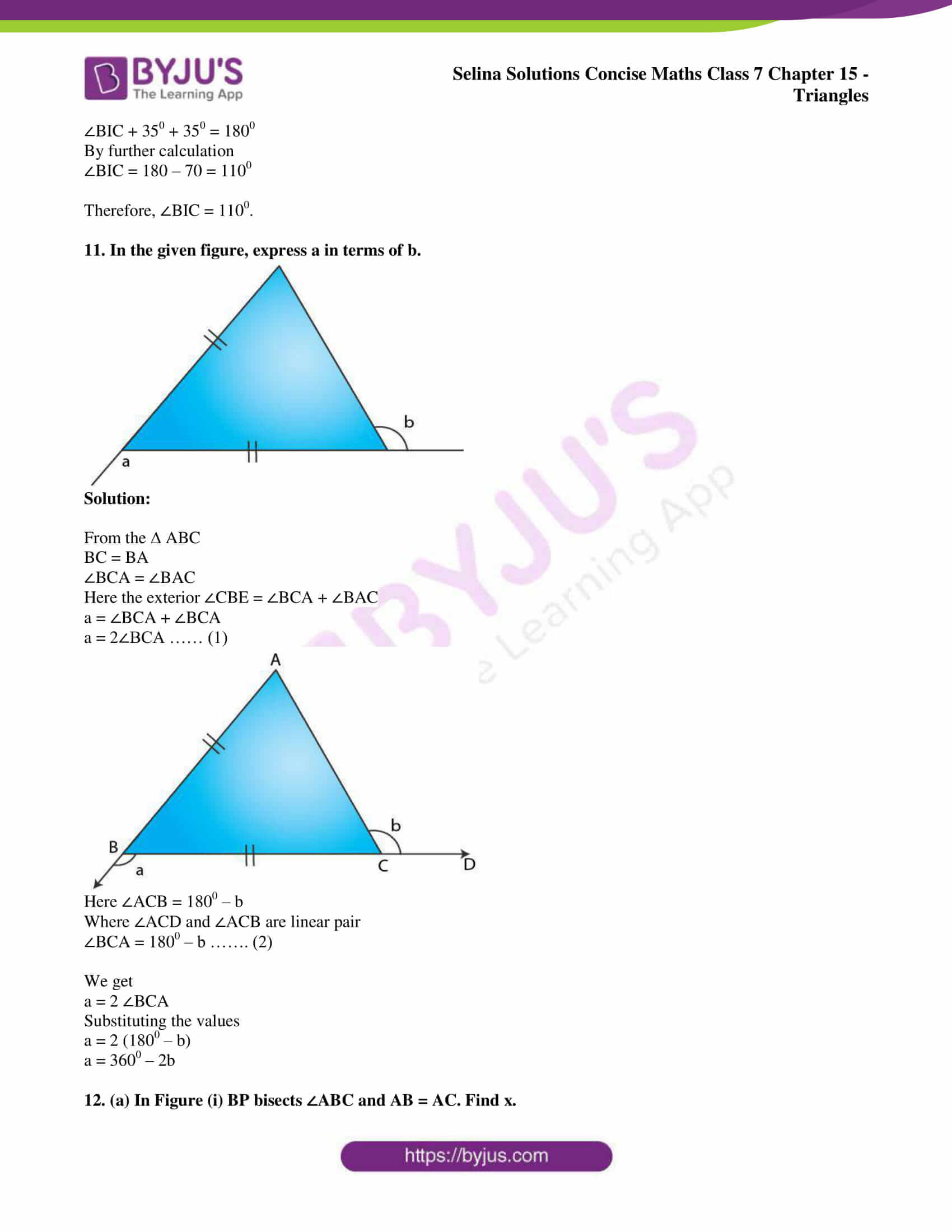 selina sol concise maths class 7 chapter 15 ex b 09