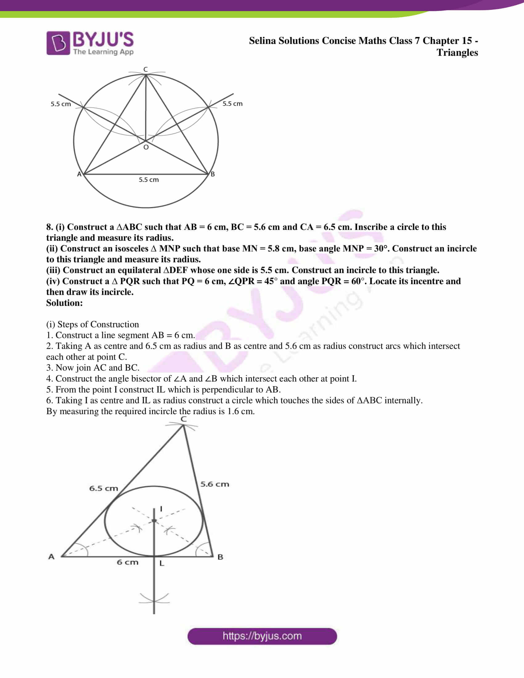 selina sol concise maths class 7 chapter 15 ex c 10