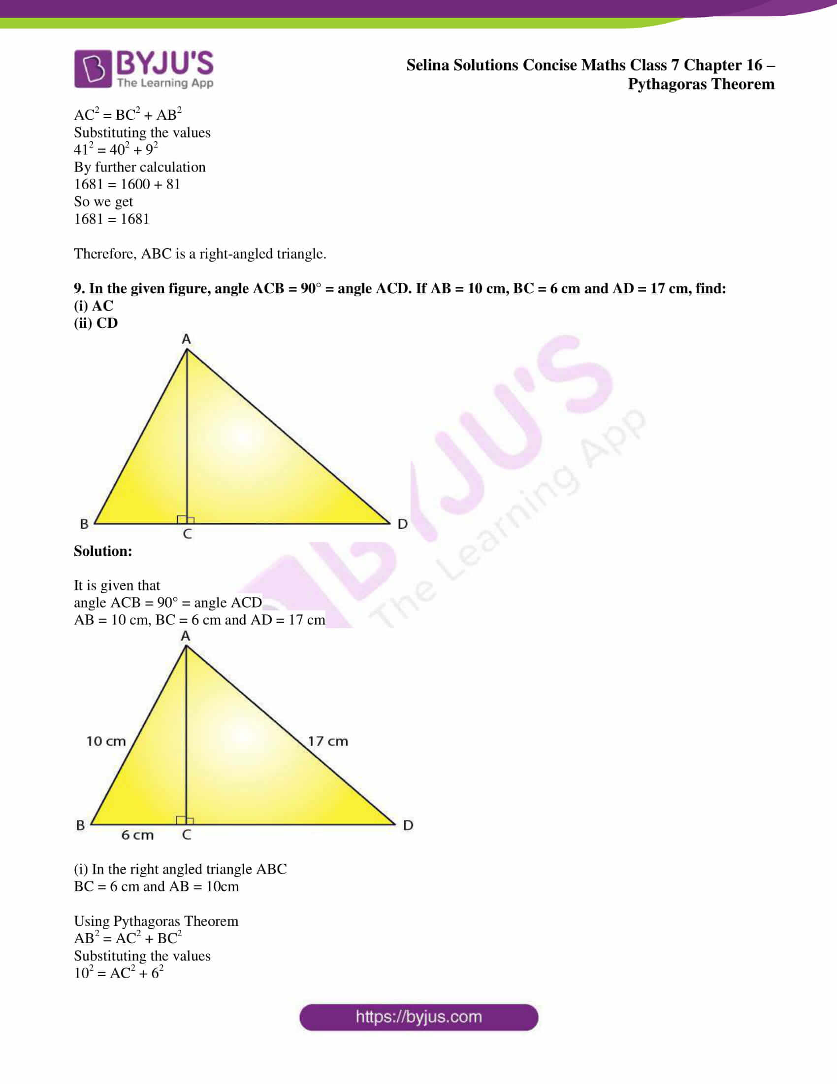 selina sol concise maths class 7 chapter 16 07