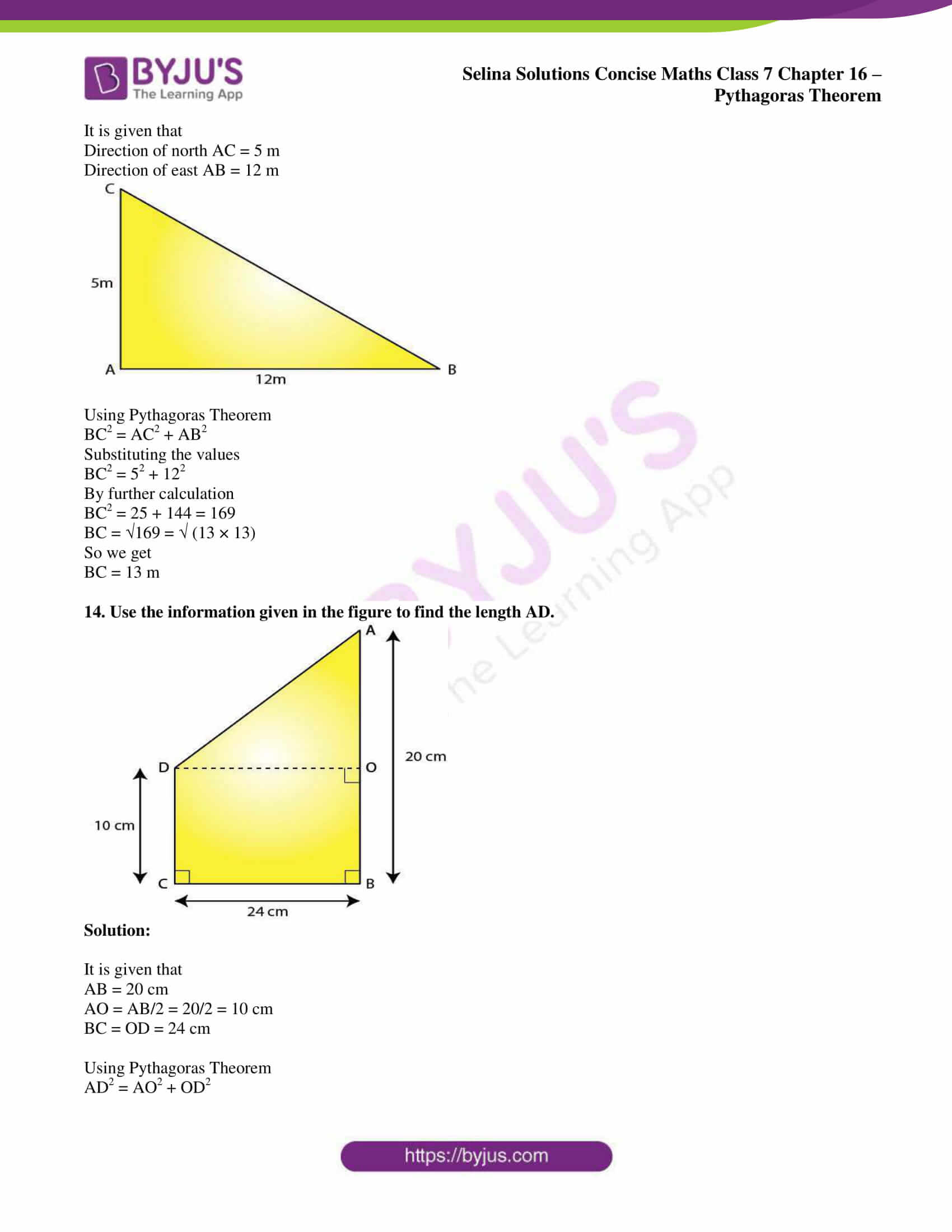 selina sol concise maths class 7 chapter 16 11