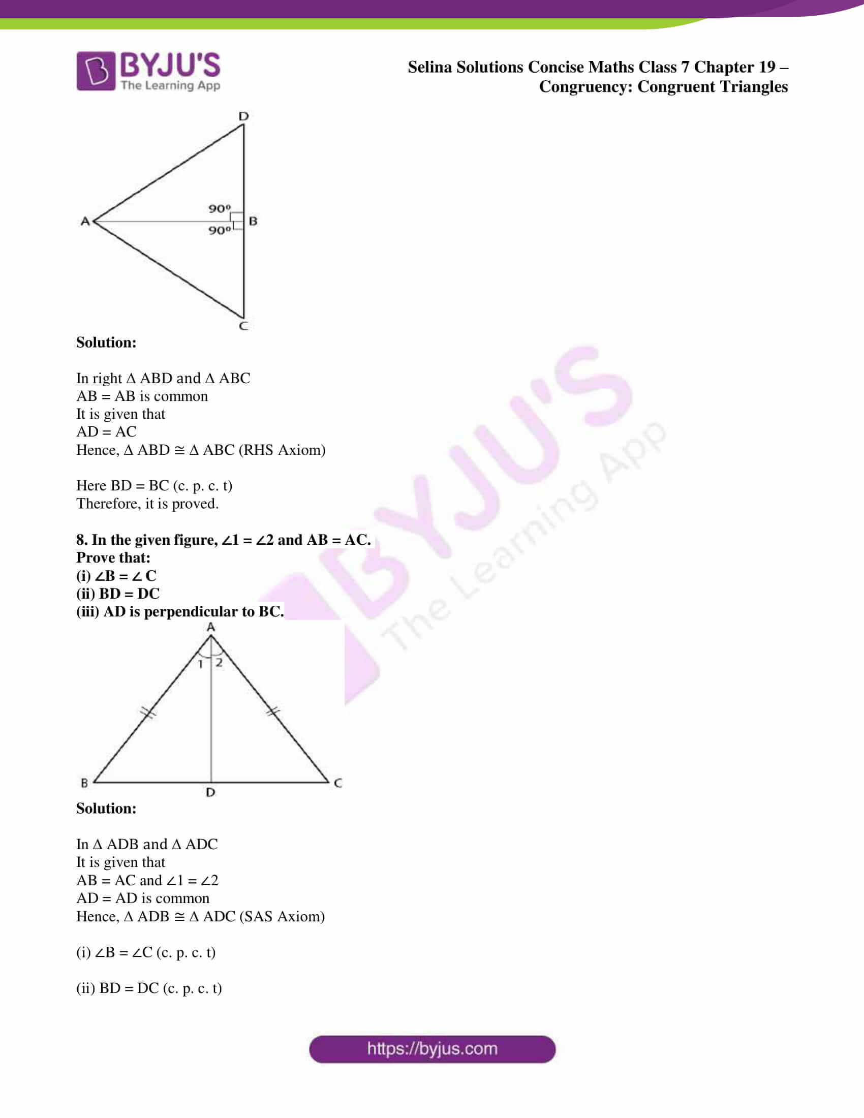 selina sol concise maths class 7 chapter 19 06