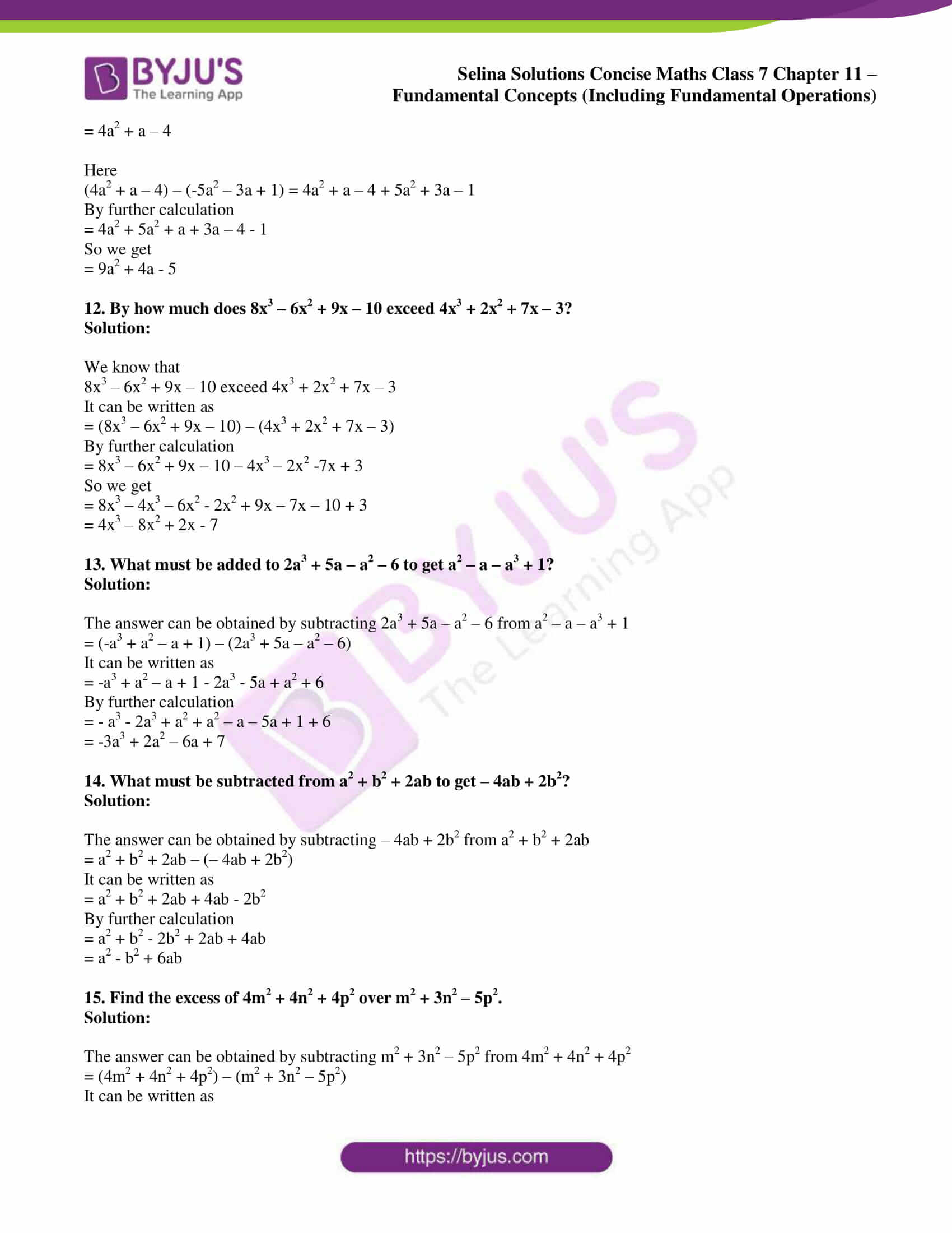 selina solution concise maths class 7 ch 11b 8
