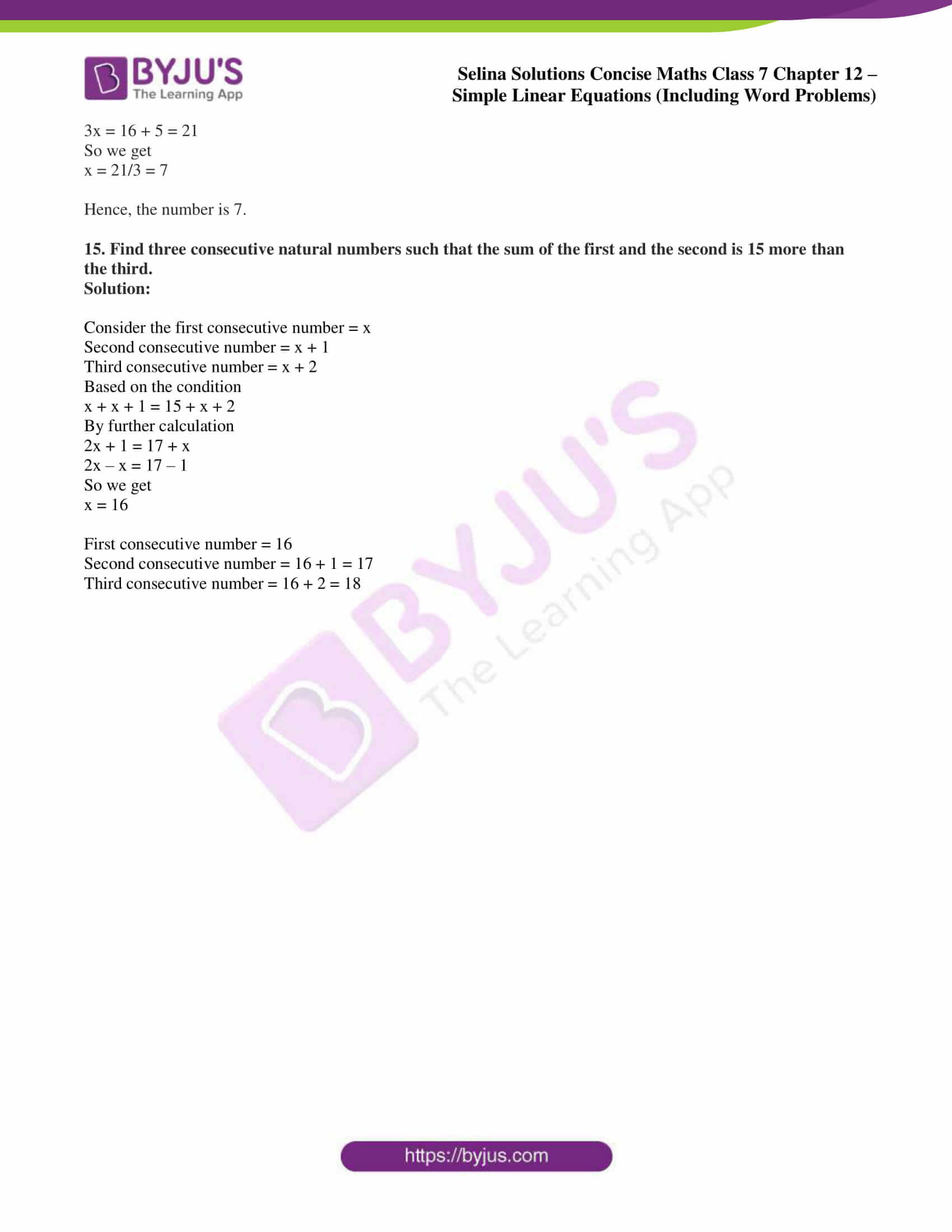 selina solution concise maths class 7 ch 12d 5
