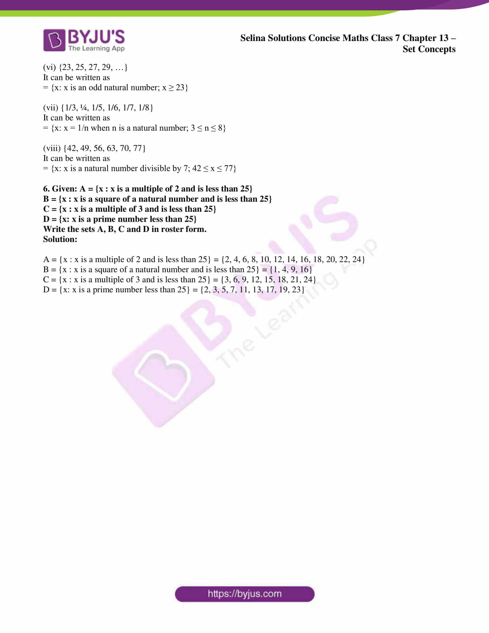 selina solution concise maths class 7 ch 13a 4