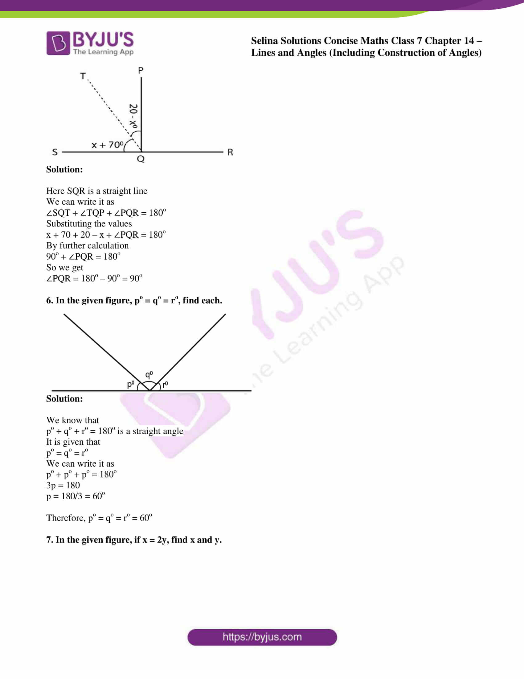 selina solution concise maths class 7 ch 14a 4