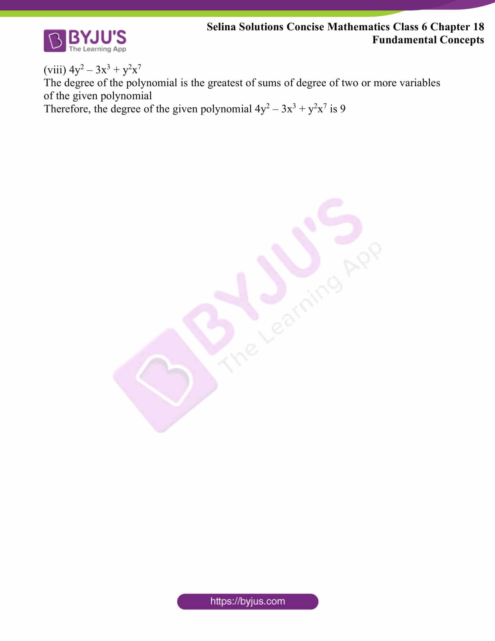 selina solutions concise math class 6 chapter 18 ex b 8