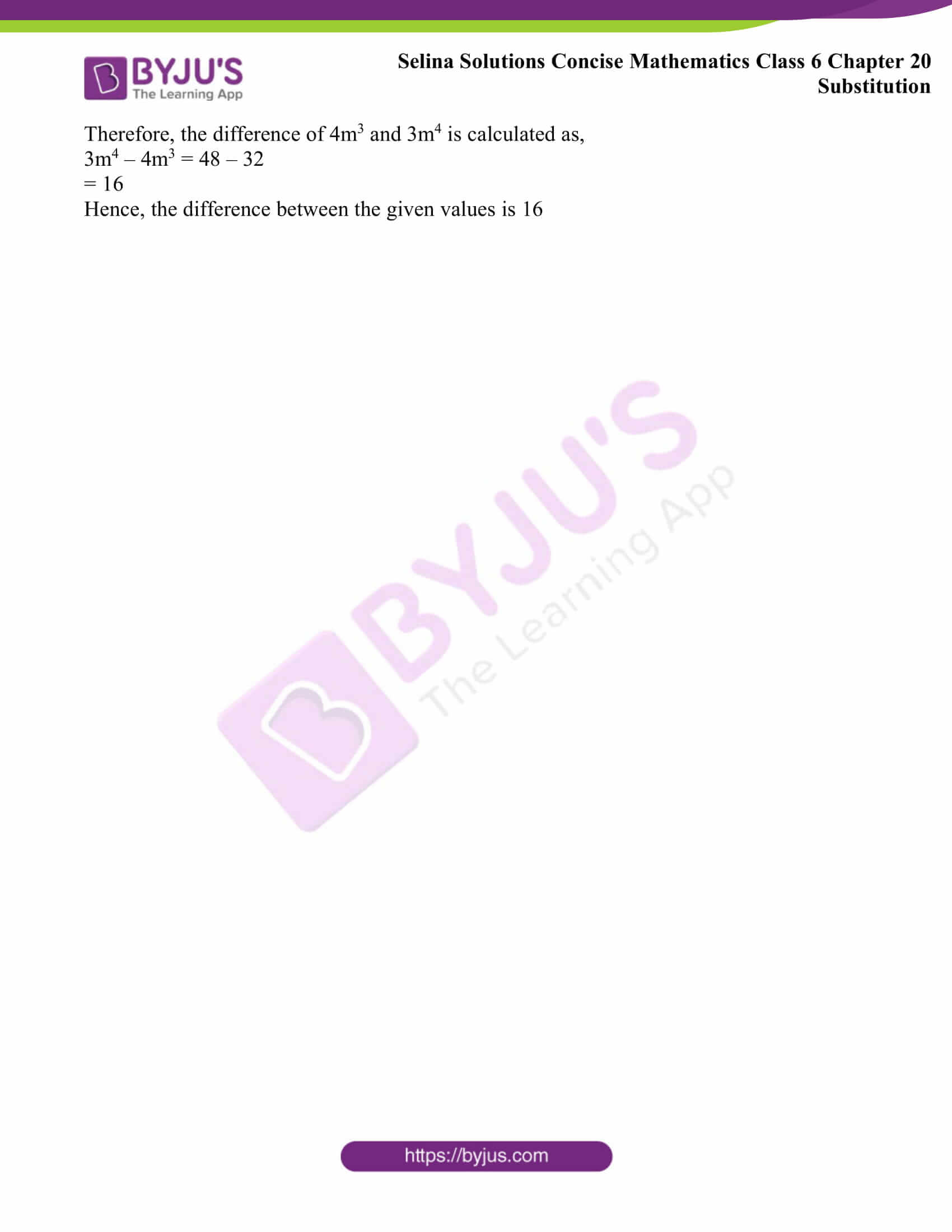 selina solutions concise math class 6 chapter 20 ex a 8