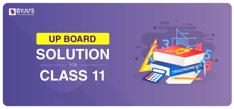 UP Board Solution For Class 11