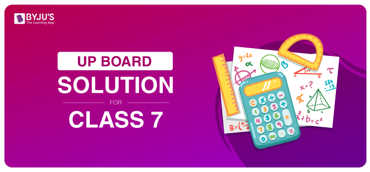 UP Board Solution Class 7