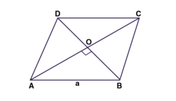 Adjacent sides of a parallelogram are equal and one of diagonals is equal to any one of the sides of this parallelogram. Show that its diagonals are in the ratio square root of 3 :1.