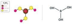 Structure of boric acid