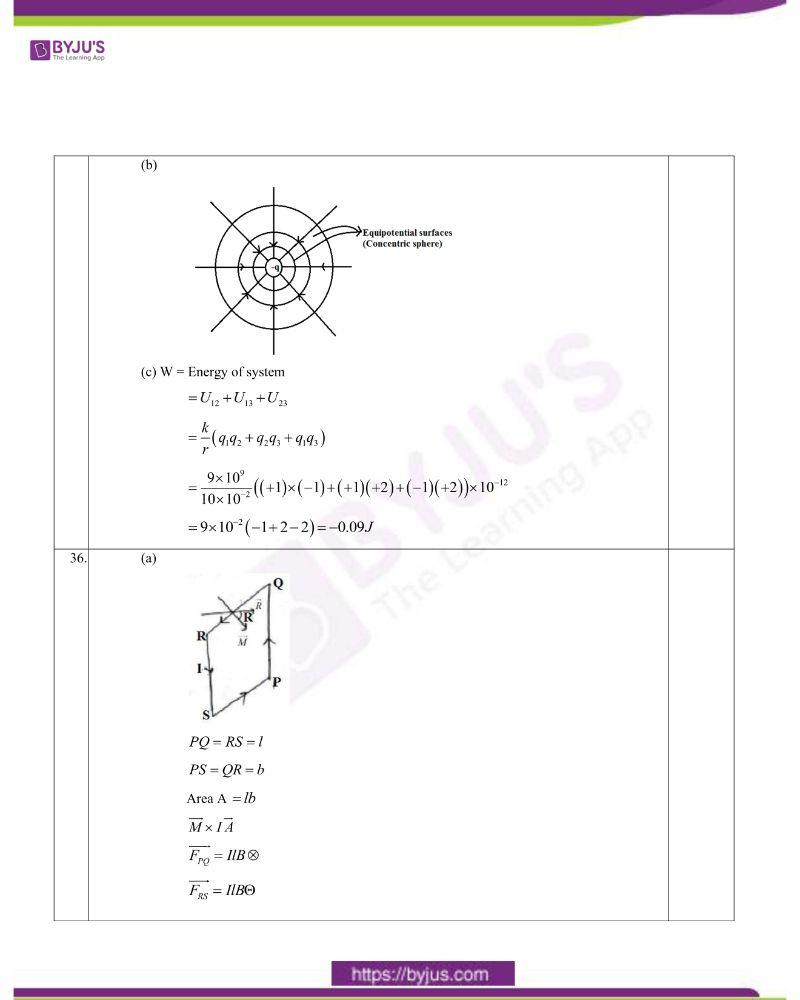 CBSE Class 12 Physics Question Paper Set 1 Solution 2020 14