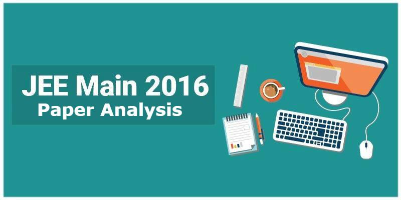 JEE Main 2016 Analysis